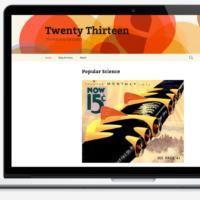 WordPress Theme Twenty Thirteen