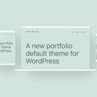 WordPress Theme Twenty Twenty-One