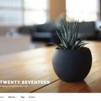 WordPress Standard-Theme: Twenty Seventeen