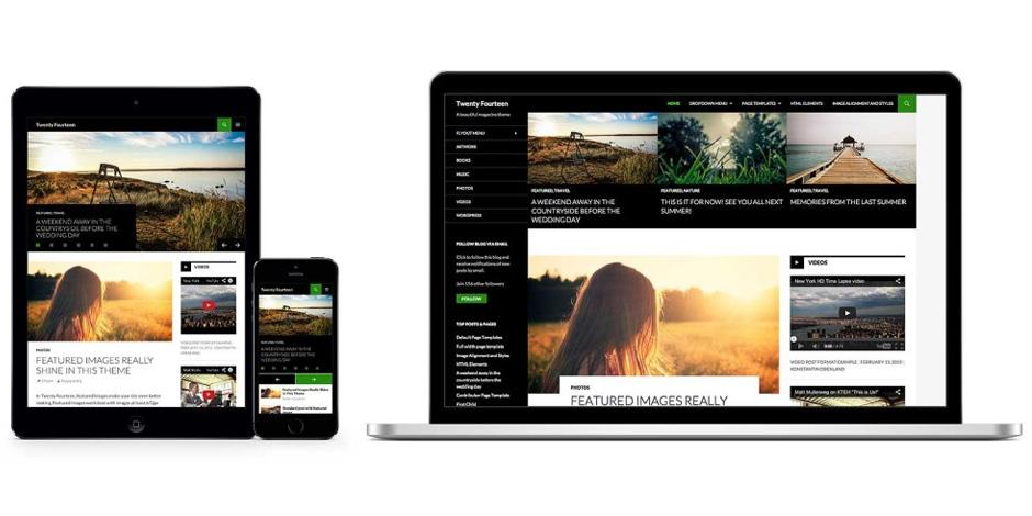 Moderne <strong>Webseiten</strong> und Blogs mit <strong>WordPress</strong>