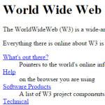 Die Webseite wird 25 Jahre alt